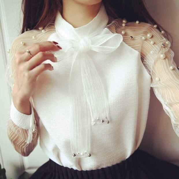 Блузка реглан