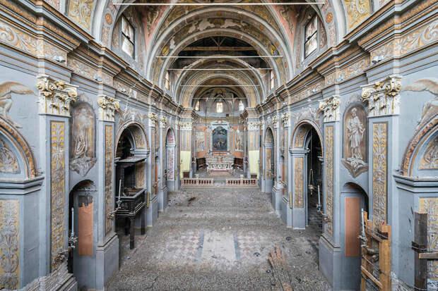 Церковь XVI – XVII веков, Италия, Ломбардия