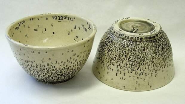 """Дизайнерская посуда от Laura C. Hewitt"""""""