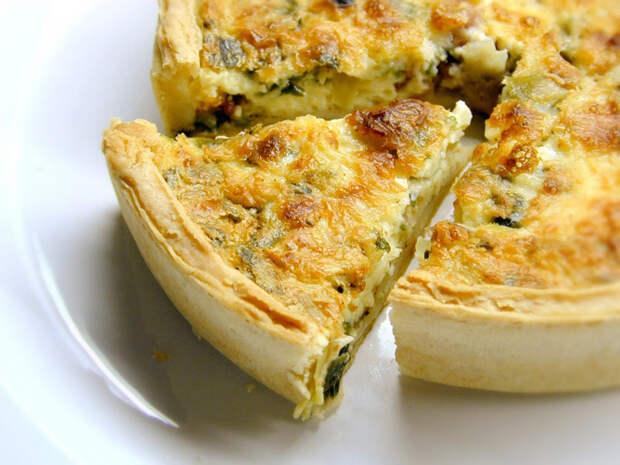 Французский киш: 8 лучших рецептов открытых пирогов