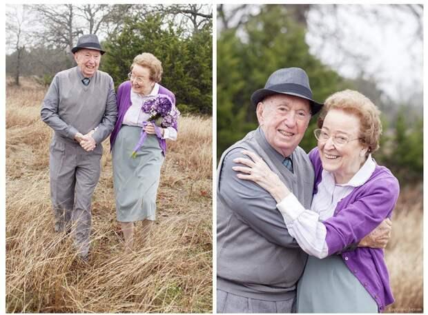 11. 68 лет совместной жизни вера, любовь, пара