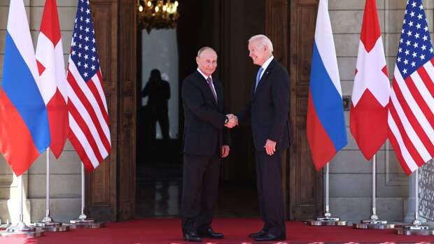 Канцлер Германии положительно высказалась о встрече Путина и Байдена