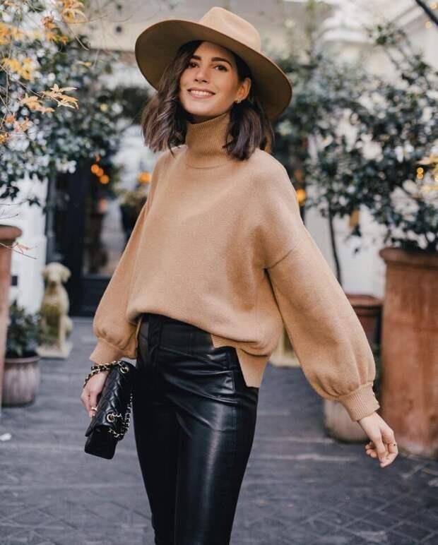 Стильные модели свитеров, которые выбирают знаменитые модницы