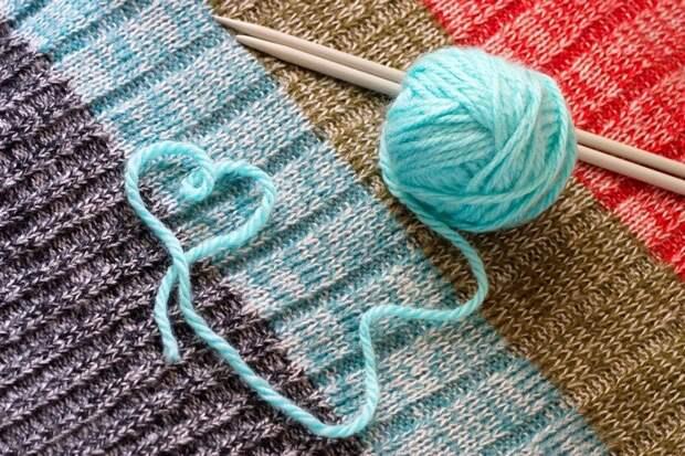 выбрать нитки для вязания