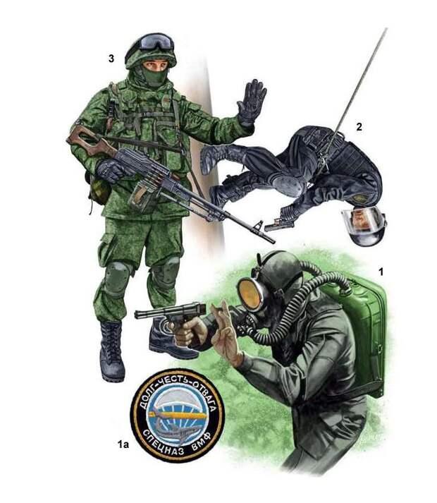 Российские силы специального назначения иллюстрации, россия, спецназ