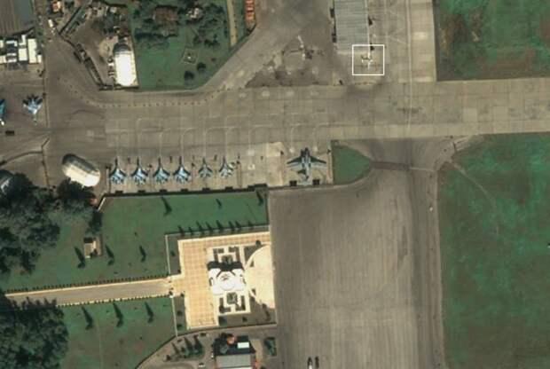 Необычные самолеты ФСБ России замечены на базе Хмеймим в Сирии