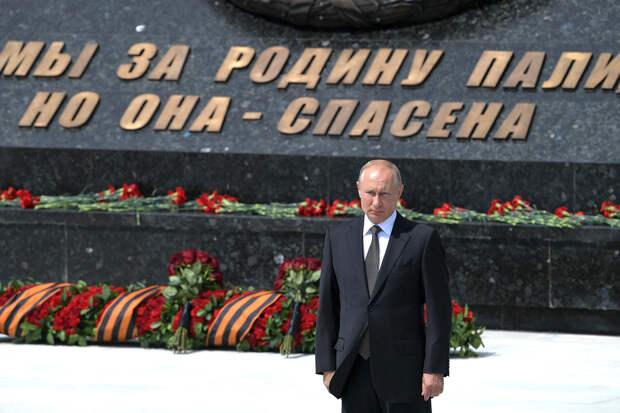 Путин напомнил о миссии советского солдата-освободителя