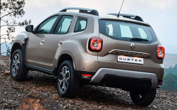 Renault испытывает новый Duster