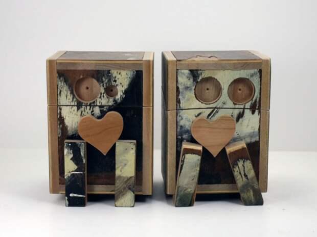 Монстро-коробочки by Eric Grimes (трафик)