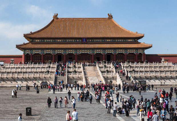 Пурпурный запретный город — самый большой дворцовый комплекс в мире