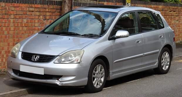 Б/У: Honda Civic (2001-2005): надежный, невзрачный и недооцененный.