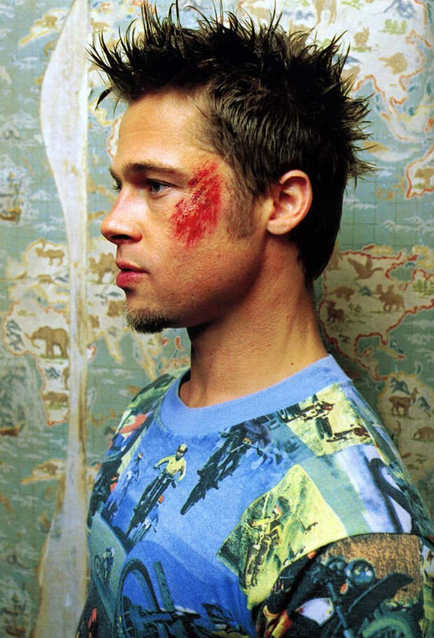 Брэд Питт (Brad Pitt) в фотосессии для фильма «Бойцовский клуб» (Fight Club) (1999), фото 3