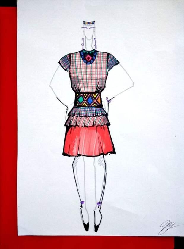 В Удмуртии показали костюмы победителей конкурса национальной моды