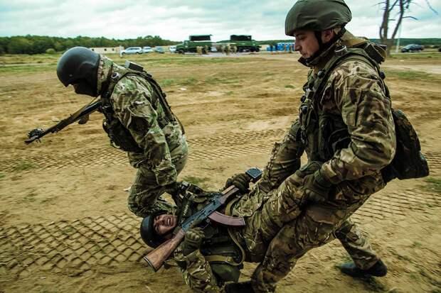 Перерезанное горло и застывшая улыбка: на Украине жестоко убит россиянин — боевик «Азова» (ФОТО)