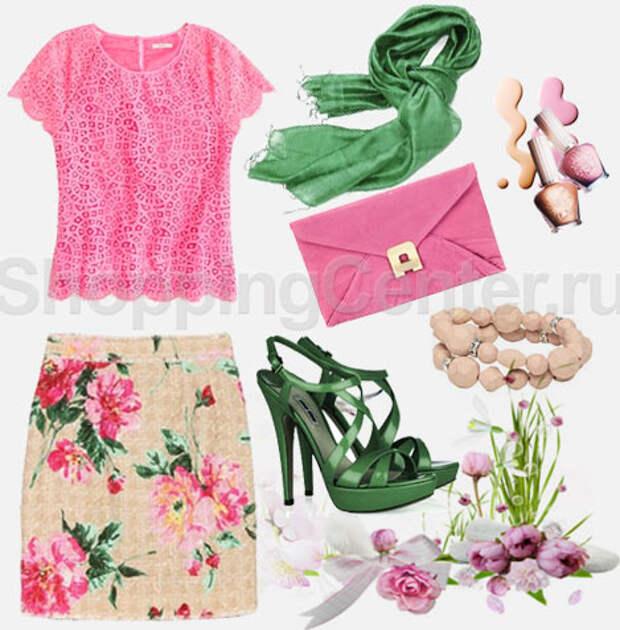 Романтический стиль одежды, фото