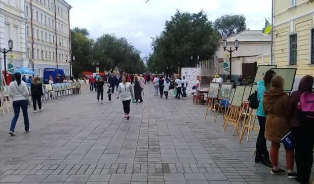 Оренбуржцы смогут выбрать новый дизайн-проект улицы Советской