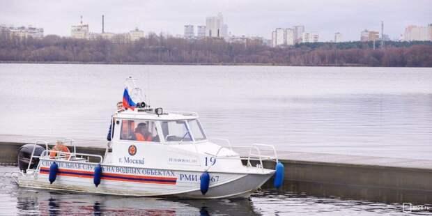 Спасательные катера в Москве оснастят видеорегистраторами Фото: mos.ru