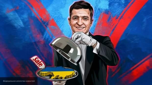 СМИ: Зеленский поделил Украину между олигархами