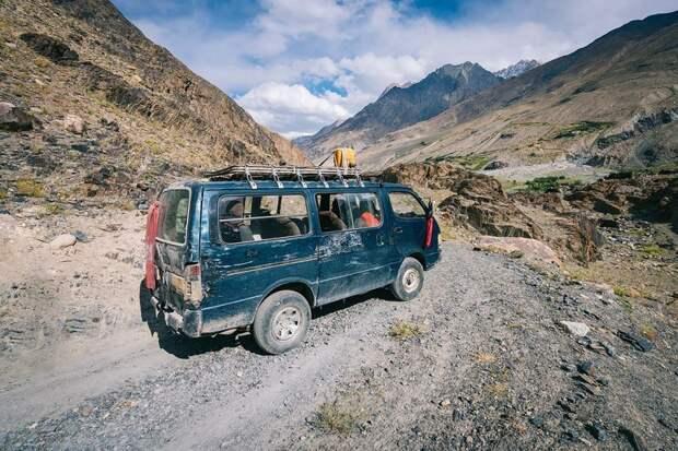 Дорога в Афганистане Ваханский коридор, афганистан, вид, горы, природа, путешествие, фотомир