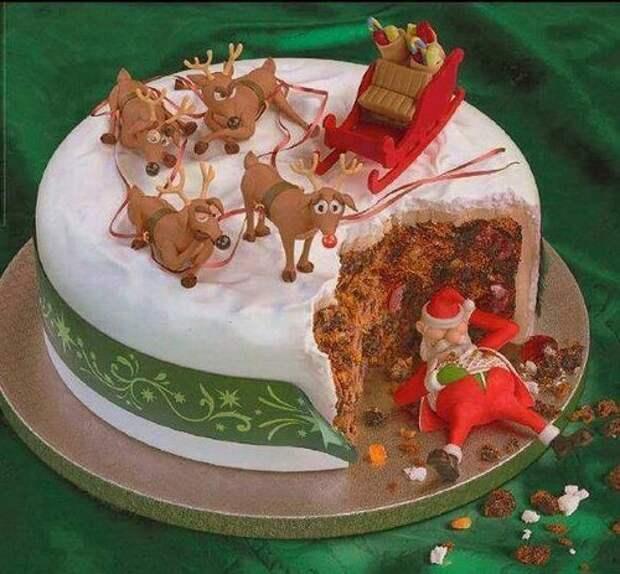Новогодние торты! Красота!