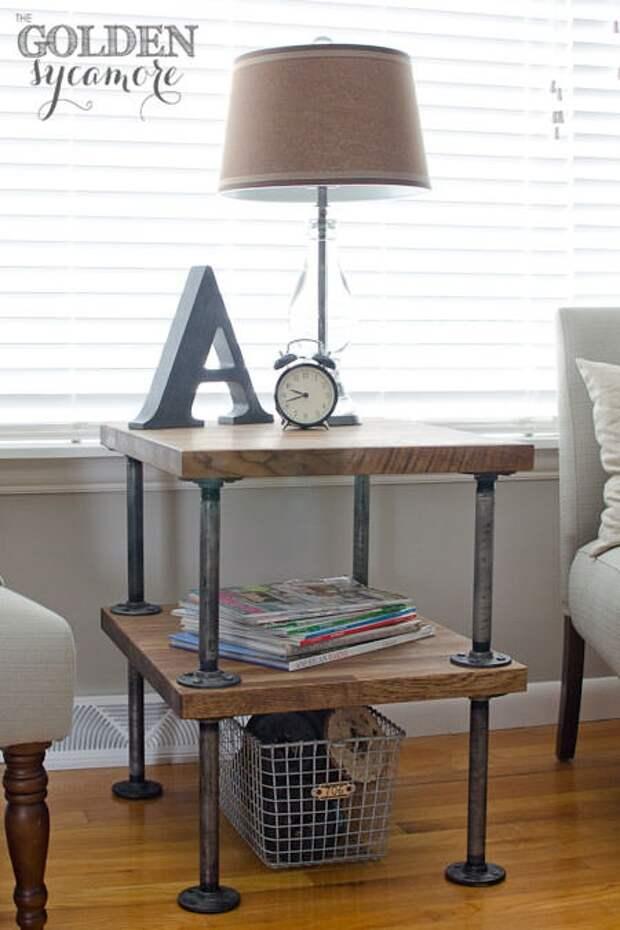 Мебель из труб (подборка)