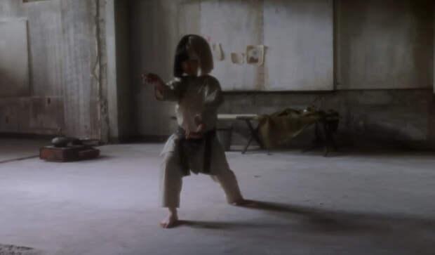 Маленькая чемпионка по карате пробивает чарты в новом клипе Сия