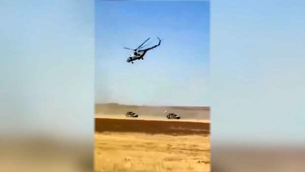 Военные США пострадали в столкновении с российским транспортом в Сирии (видео)