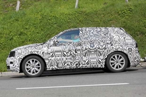 В Альпах сфотографировали новый VW Тигуан
