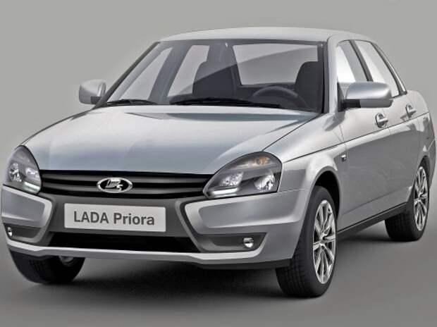 Обновленная Lada Priora может появиться в I половине 2015 года