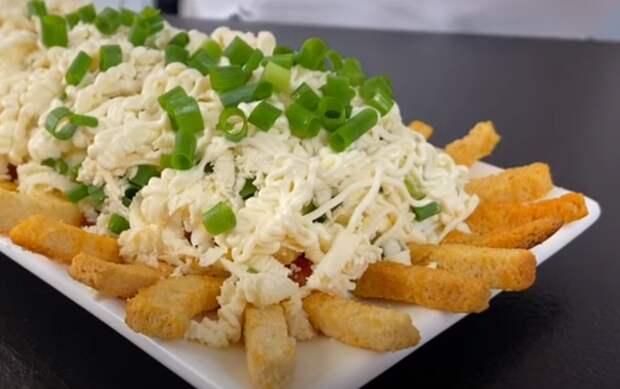 Быстрый и вкусный салат «Секундочка»