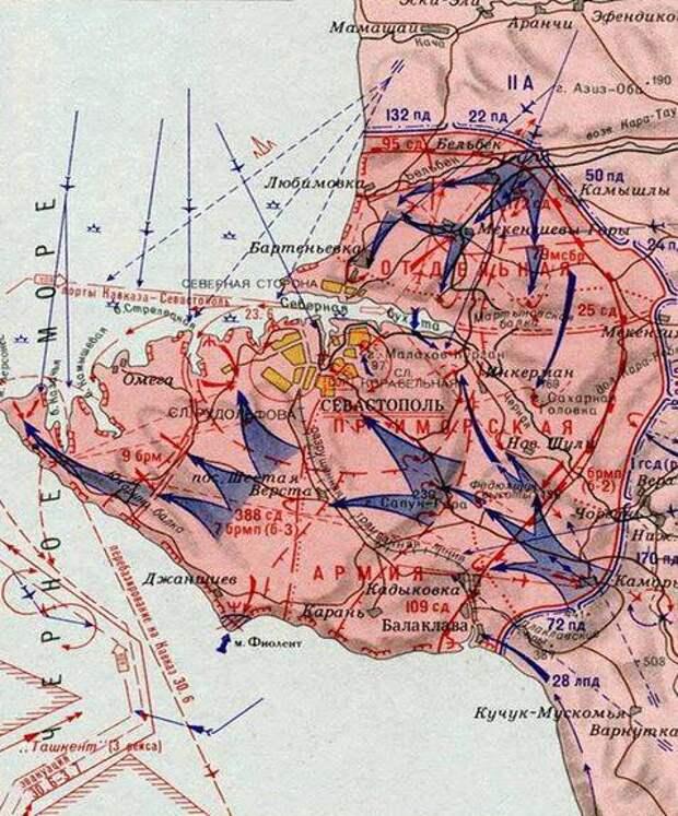 250 дней героической обороны Севастополя и три дня позора командования