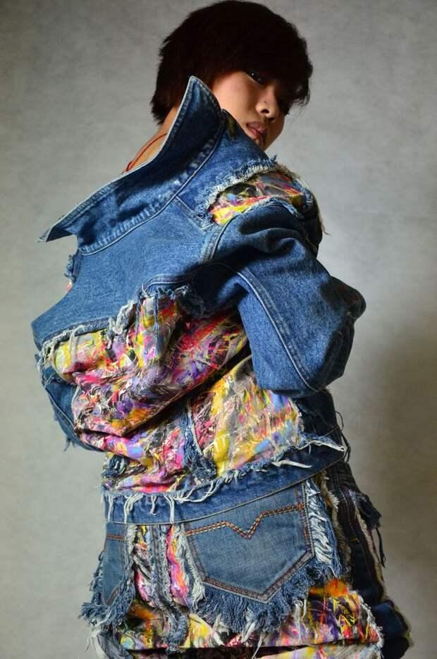 Из всех джинсовых переделок, эти самые потрясающие