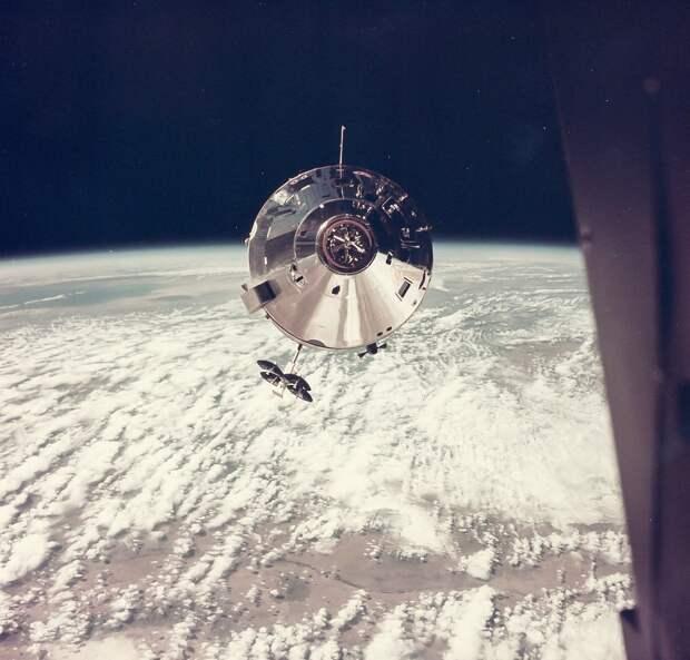 1969, март. КМ «Гамдроп» над Землей