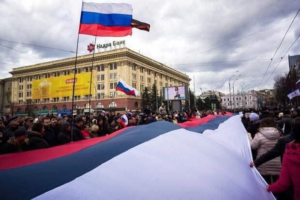 Донбасс практически вернулся в Россию. Следующая – Украина