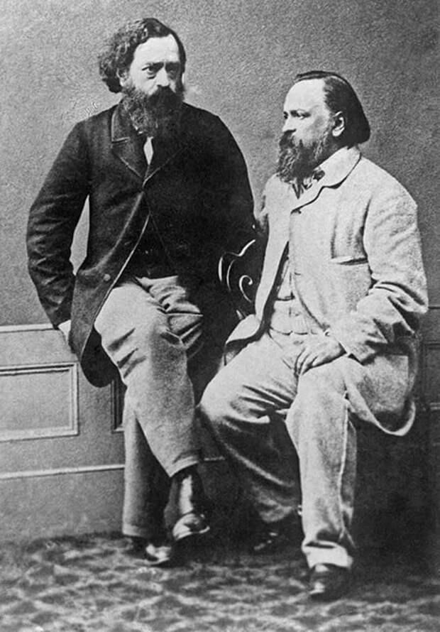 Герцен и Огарёв.