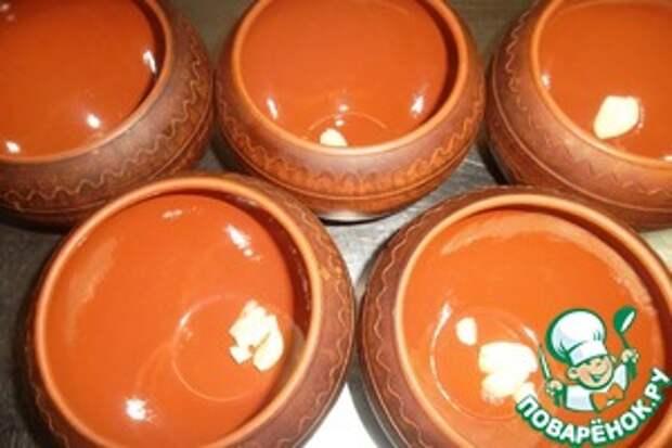 Чанахи «По-днепропетровски» Масло растительное