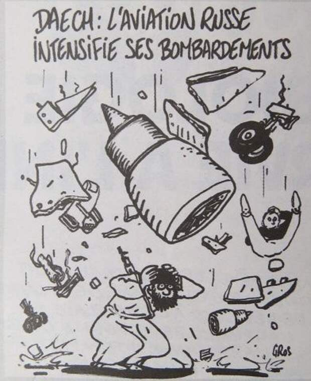 Charlie Hebdo опубликовал «карикатуры» на катастрофу в Египте