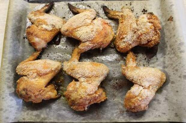 Куриные крылышки в панировке