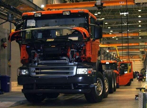 Завод Scania в Петербурге