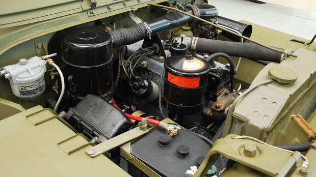 Двигатель Willys 442 Go-Devil объемом 2199 см3 мощностью 54 л.с