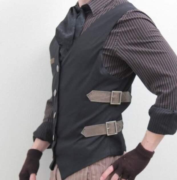 Мужские жилеты с интересными деталями