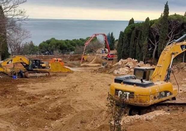 Строительство в Форосском парке ведется законно – Минприроды