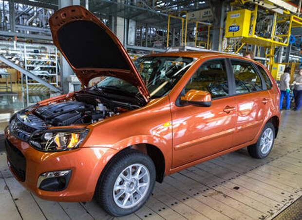 АВТОВАЗ скорректировал выпуск автомобилей Kalina и Priora