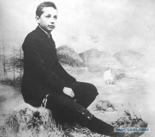 Молодой Эйнштейн  интересно, история, фото