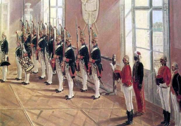 Русская армия времен Императора Павла I