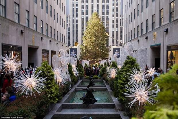 Рождественский Нью-Йорк: город, где дух праздника витает в воздухе