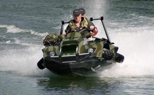 Гидроквадроцикл Gibbs Quadski авто, броневик, военная техника