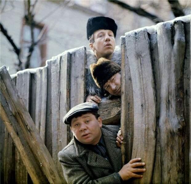 """Магия советского кино. """"Джентльмены удачи"""""""