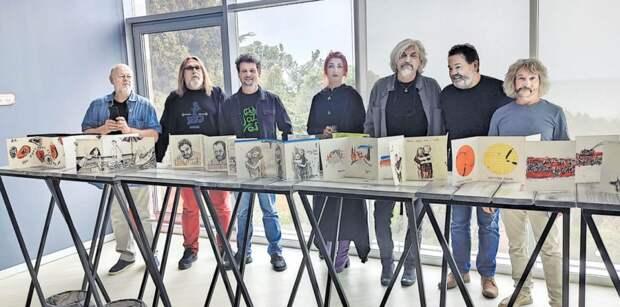 Российские художники оставили в дар крымчанам уникальную коллекцию
