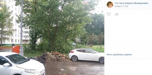 Строительный мусор на Дыбенко убрали